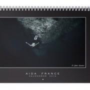 Calendrier AIDA France 2016 - couverture