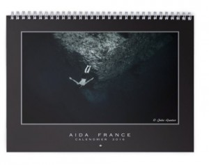 Calendrier AIDA France 2016 - couverture